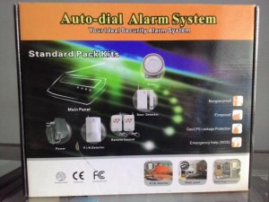 GSM Wireless Security Alarm