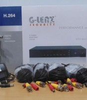 Paket Ipcam 4 Channel 1 MP ( Geip-3101, Geip-3100 )